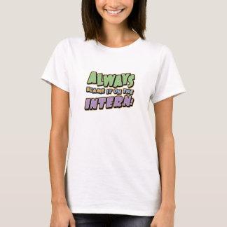 T-shirt d'interne de blâme