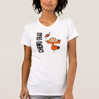 T-shirt DIPLÔMÉ 1 (Cancer de CHIMIO orange de rein)