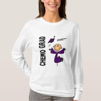 T-shirt DIPLÔMÉ 1 de CHIMIO de Cancer pancréatique