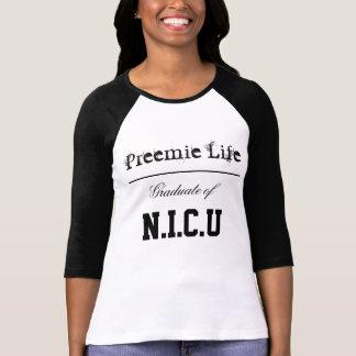 T-shirt Diplômé de N.I.C.U