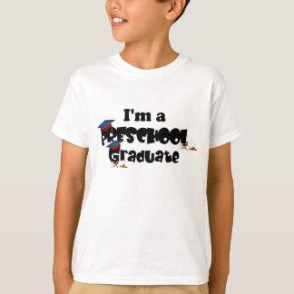 T-shirt Diplômé d'école maternelle