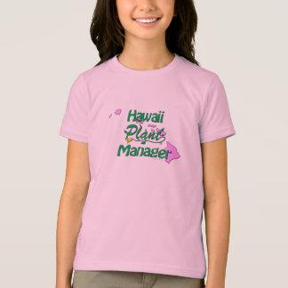 T-shirt Directeur d'installation d'Hawaï