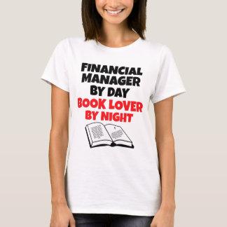 T-shirt Directeur financier d'amoureux des livres