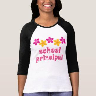 T-shirt Directeur fleuri