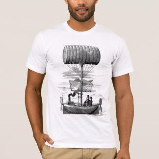 T-shirt Dirigeable de Steampunk