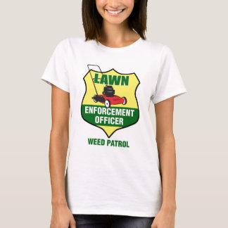 T-shirt Dirigeant d'application de pelouse