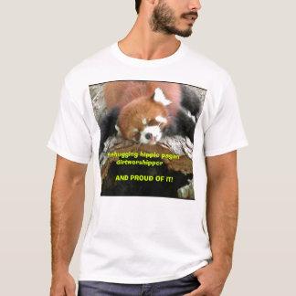 T-shirt Dirtworshipper païen hippie de Treehugging