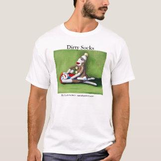 T-shirt Dirty_Socks [1], chaussettes sales, par Leah