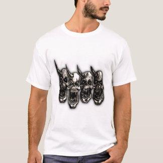T-shirt Disciples des crânes de la puissance 4
