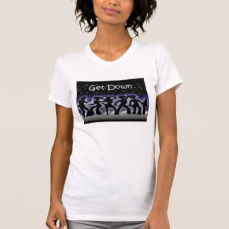 T-shirt Disco et danse de boogie