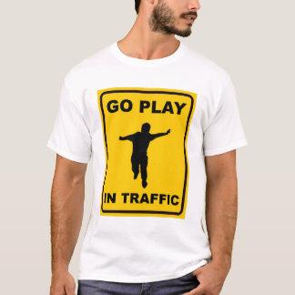 T-shirt Disparaissent le jeu dans le trafic