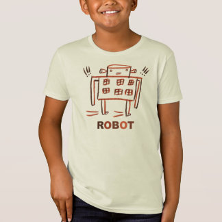 T-Shirt Disparaissent le robot