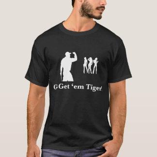 T-shirt Disparaissent leur obtiennent le tigre !