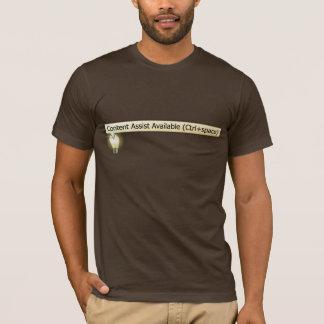 T-shirt disponible d'aide satisfaite