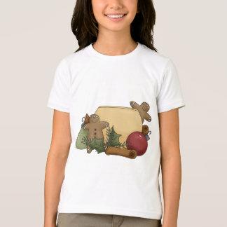 T-shirt Dispositions de Noël · Pain d'épice et cannelle