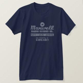 T-shirt Disque Cie. Chicago de radio de Maxwell