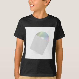 T-shirt Disque compact