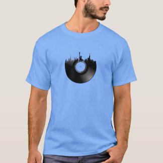 T-shirt Disque vinyle de New York City