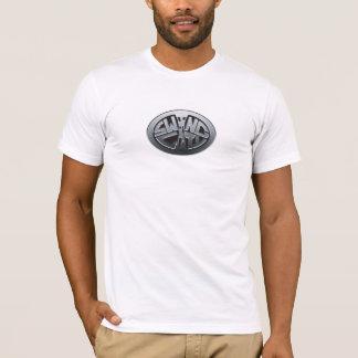 T-shirt Disques de ville d'oscillation