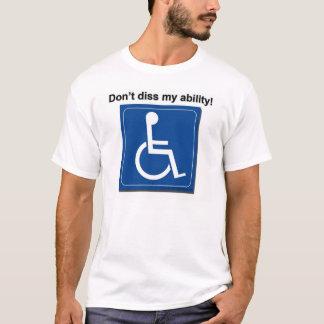 T-shirt dissability
