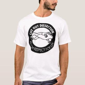 T-shirt Dissection coupée