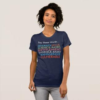 T-shirt Dites ces 7 mots