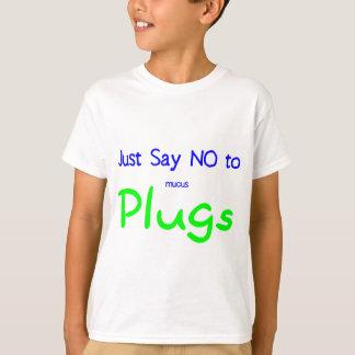 T-shirt Dites juste no (le vert)