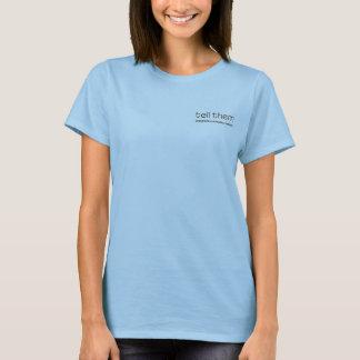 T-shirt Dites-leur le bleu de poche des textes