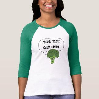 T-shirt dites n'importe quoi chemise fâchée de brocoli