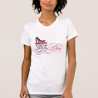 T-shirt Diva de chaussure