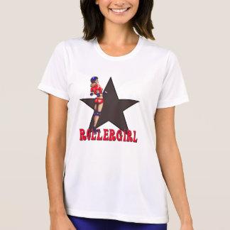 T-shirt diva de Derby de rouleau