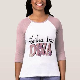 T-shirt DIVA de Shiba Inu