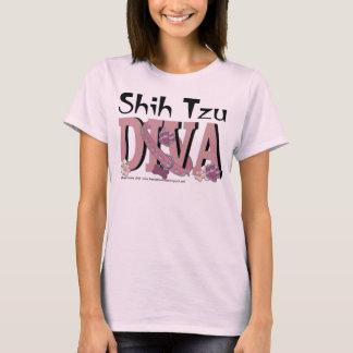T-shirt DIVA de Shih Tzu
