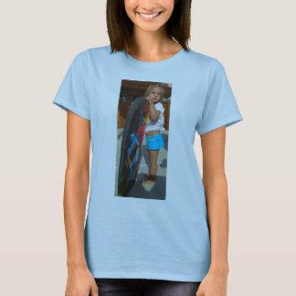 T-shirt Diva de surf