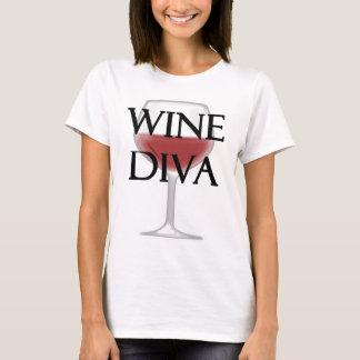 T-shirt Diva de vin