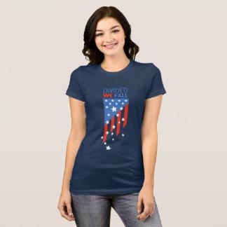 T-shirt Divisé nous tombons