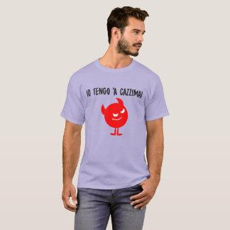 T-shirt Dix Tengo Á Cazzima ! Pièce en t italienne de