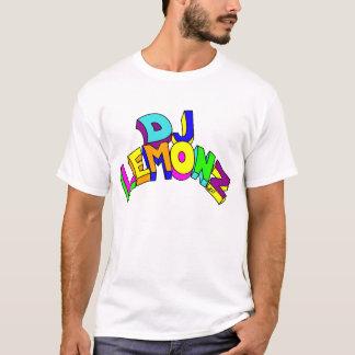 T-shirt DJ LEMONZ BIG LETTERS in colors