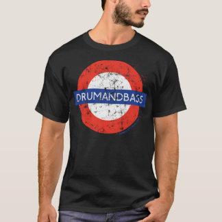 T-shirt DnB au fond (détresse)