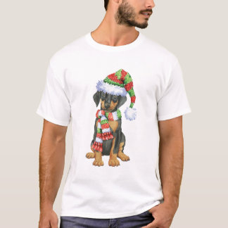 T-shirt Dobermann heureux de Howliday