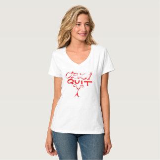 T-shirt d'obliquité