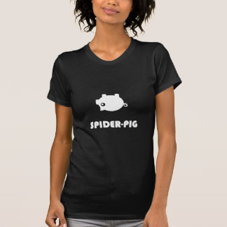T-shirt d'obscurité d'Araignée-Porc