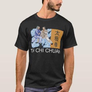 T-shirt d'obscurité de Chuan de Chi de T'ai