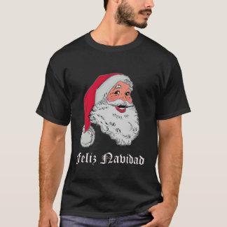 T-shirt d'obscurité de Père Noël d'Espagnol