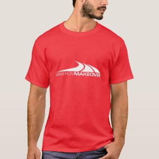T-shirt d'obscurité de restauration de marathon