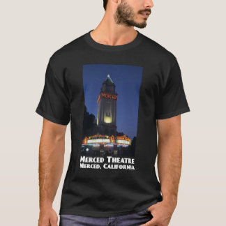T-shirt d'obscurité de théâtre de Merced