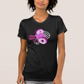 T-shirt d'obscurité de typographie d'Emo