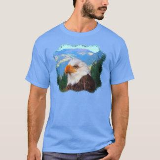 T-shirt d'obscurité d'Eagle chauve