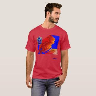 T-shirt d'obscurité d'hockey d'armée rouge
