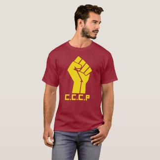 T-shirt d'obscurité d'hommes de poing de la